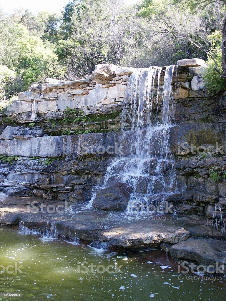 Austin Waterfall stock photo