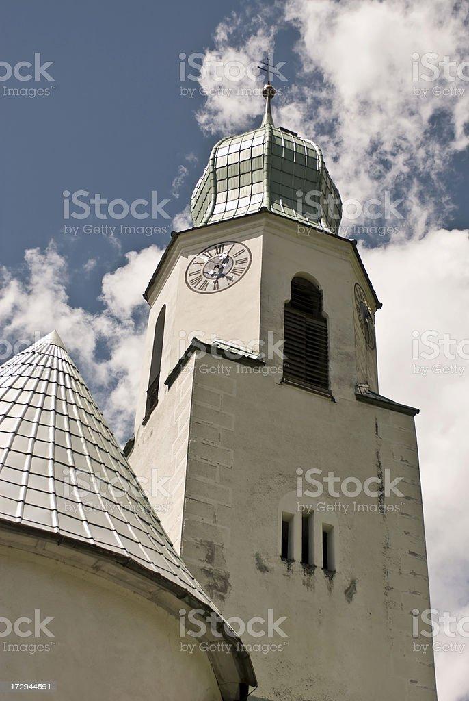 Austrain Church Steeple stock photo