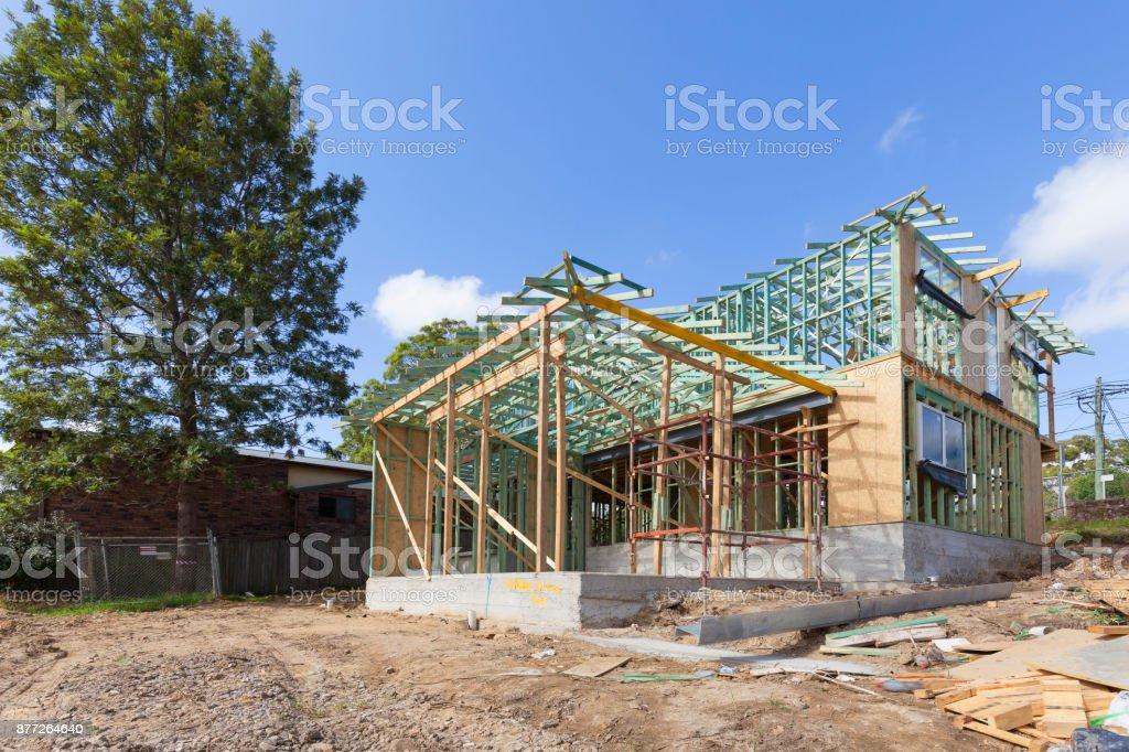 Australia, a building under construction stock photo