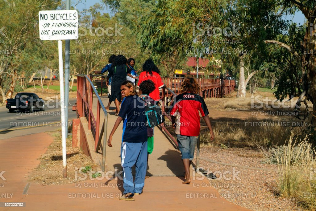Australia, Aborigines stock photo