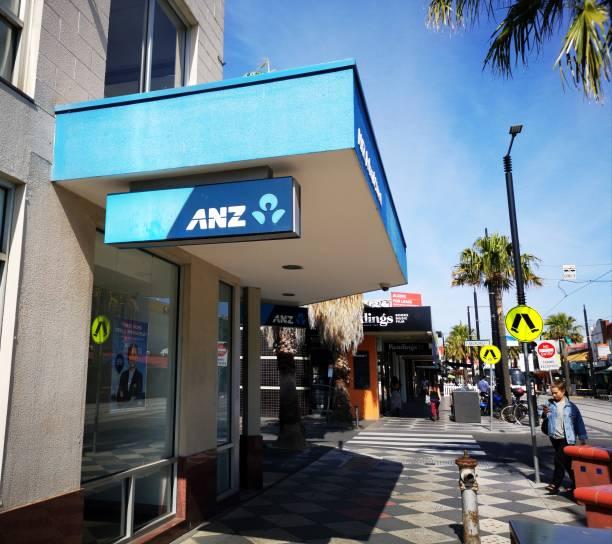 ANZ - Australia and New Zealand Bank stock photo