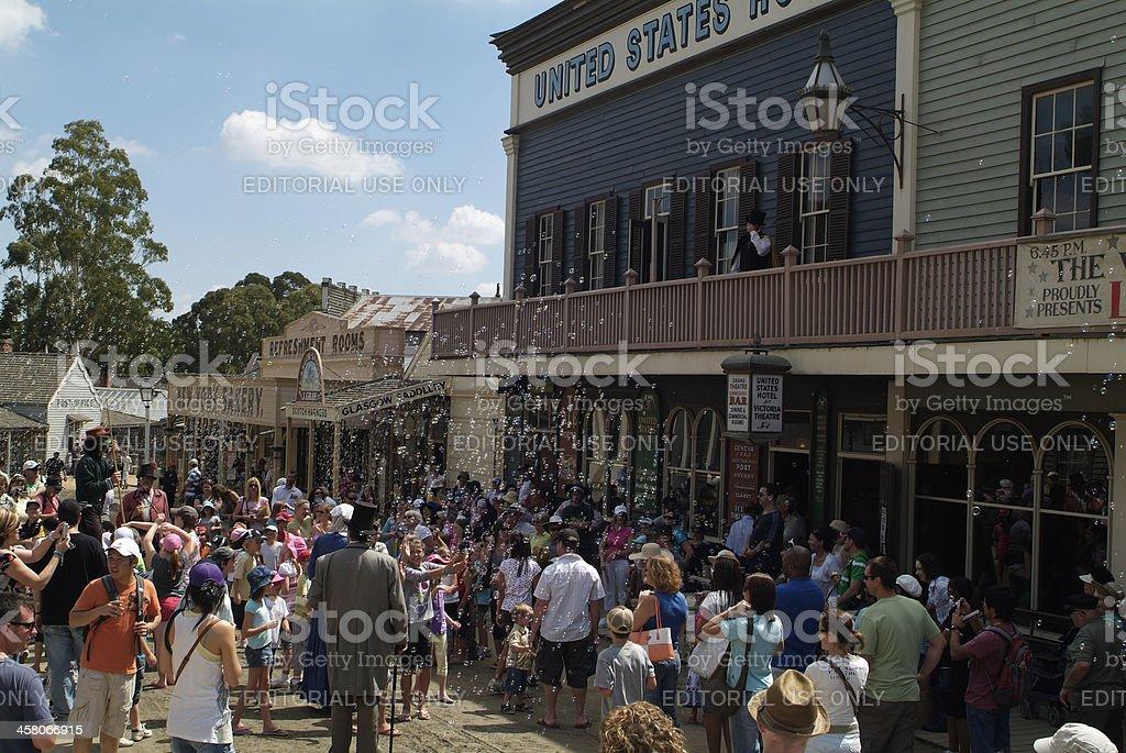 Australia Ballarat Sovereign Hill Stock Photo - Download