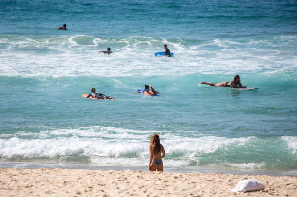 Australia: Bondi Beach stock photo