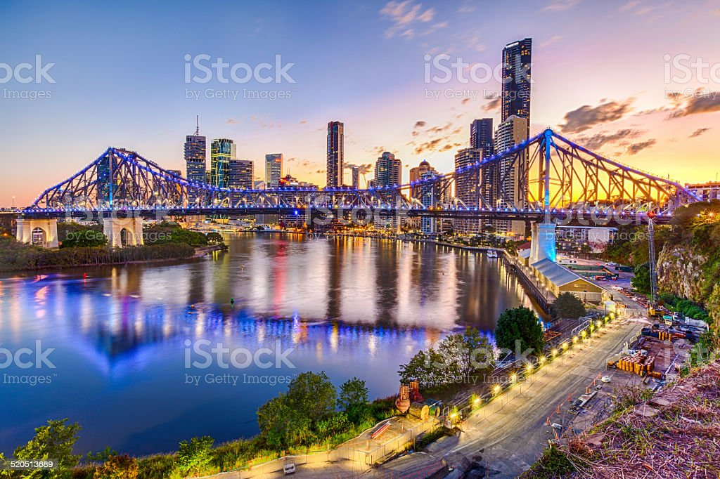 Australia, Brisbane City stock photo
