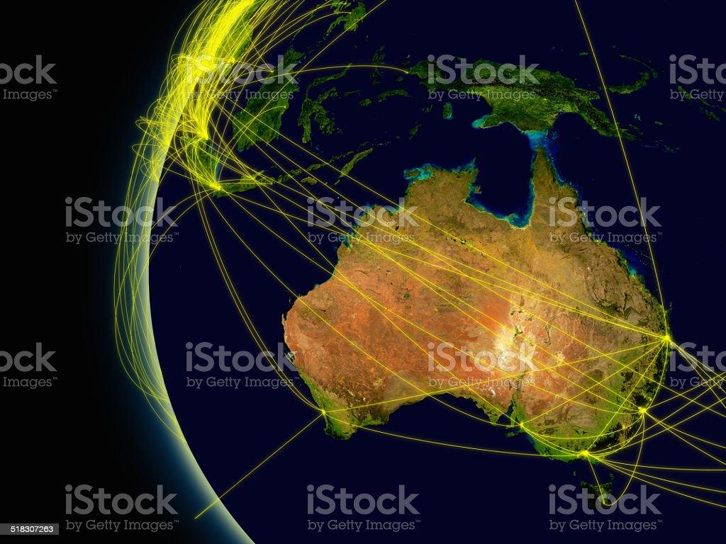 Australien-Anschluss – Foto