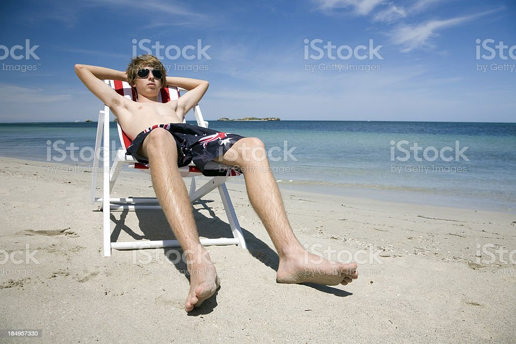 Australia Day Chill Out stock photo