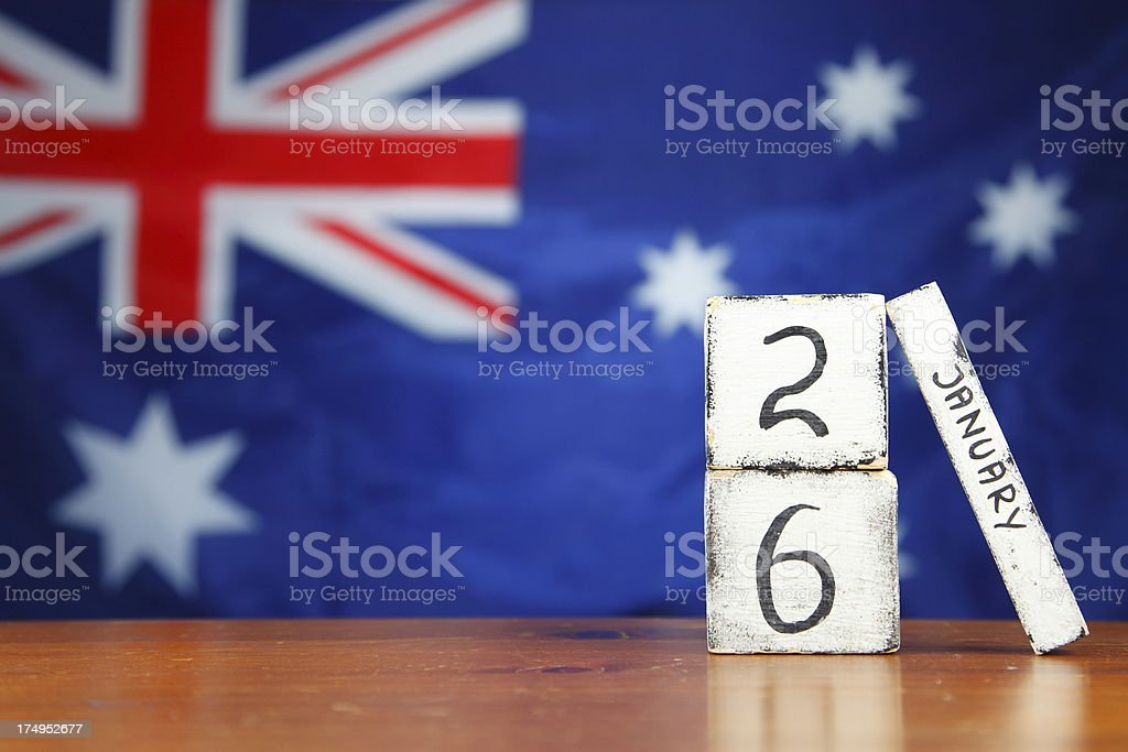 Australia Day stock photo