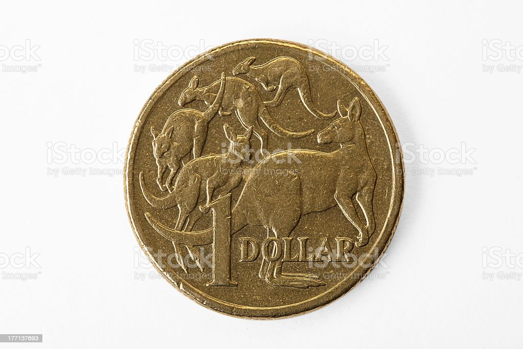 Australia Dollar Close up stock photo