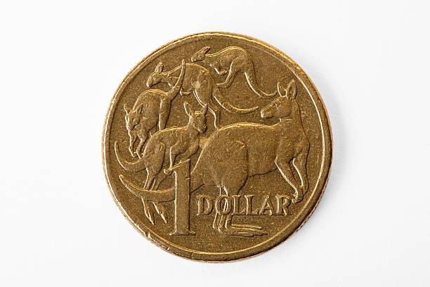 Australia Dollar Close up stock photo