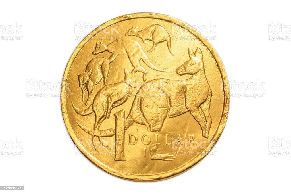 Australia dollar stock photo
