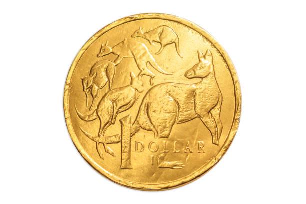 Dólar de Australia - foto de stock