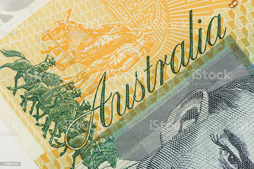Australia Dollars stock photo