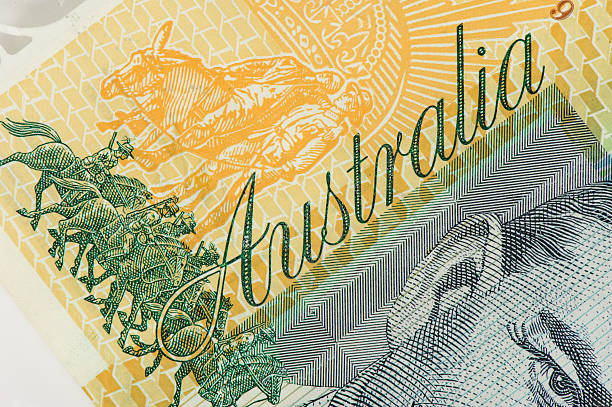 Australia Dollars stock photo