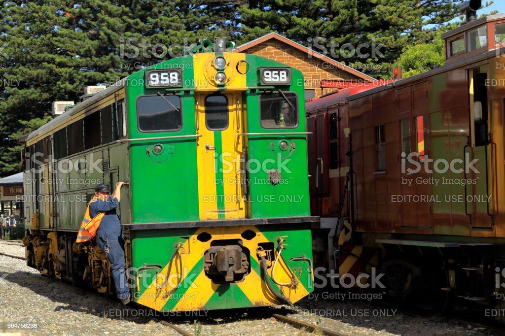 Australia Engine Locomotive Rail Tourism Shunting royalty-free stock photo