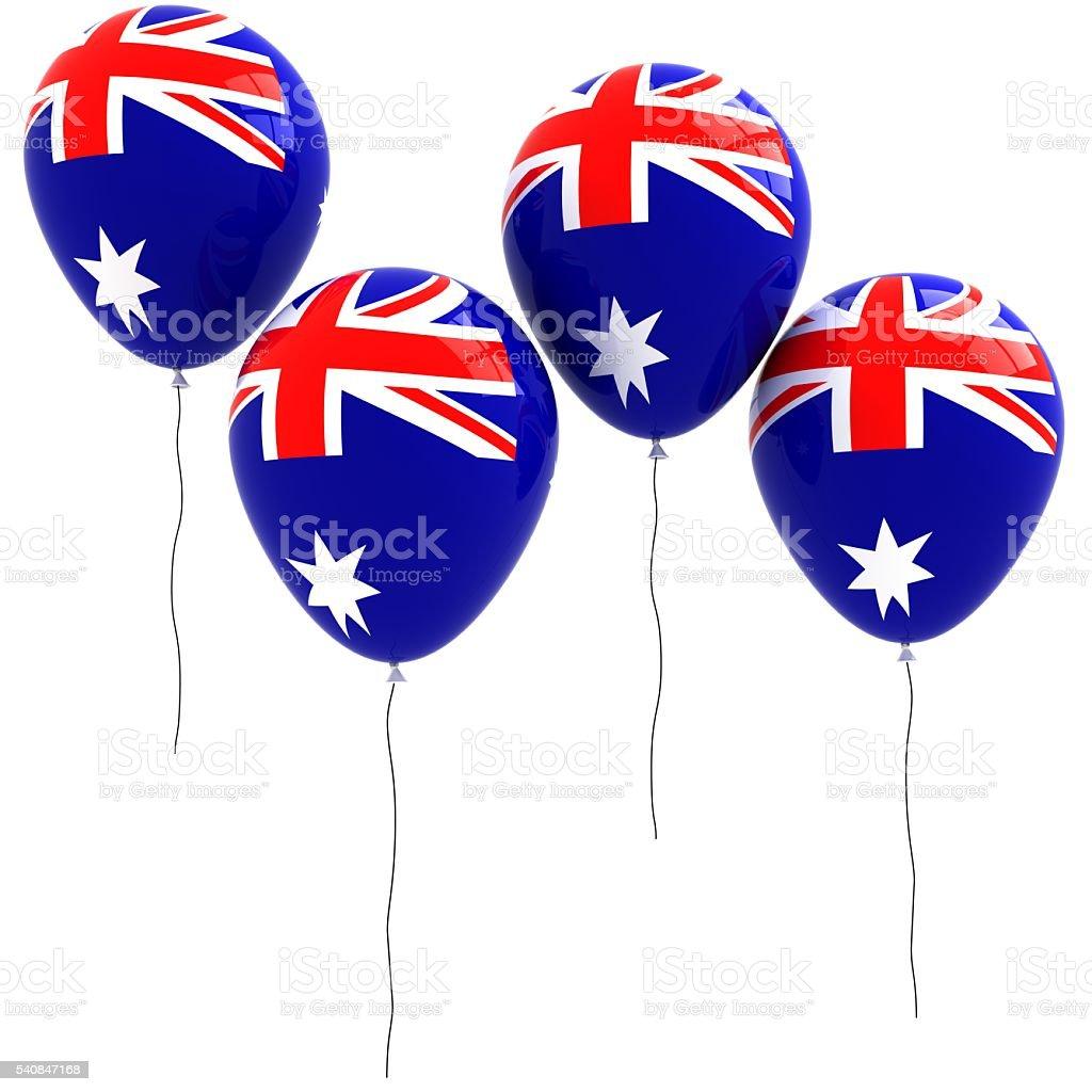 australia flag balloons stock photo 540847168 istock