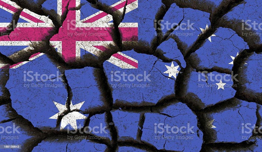 Australia flag. stock photo