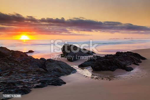 Currumbin Rocks Sunrise, Gold Coast