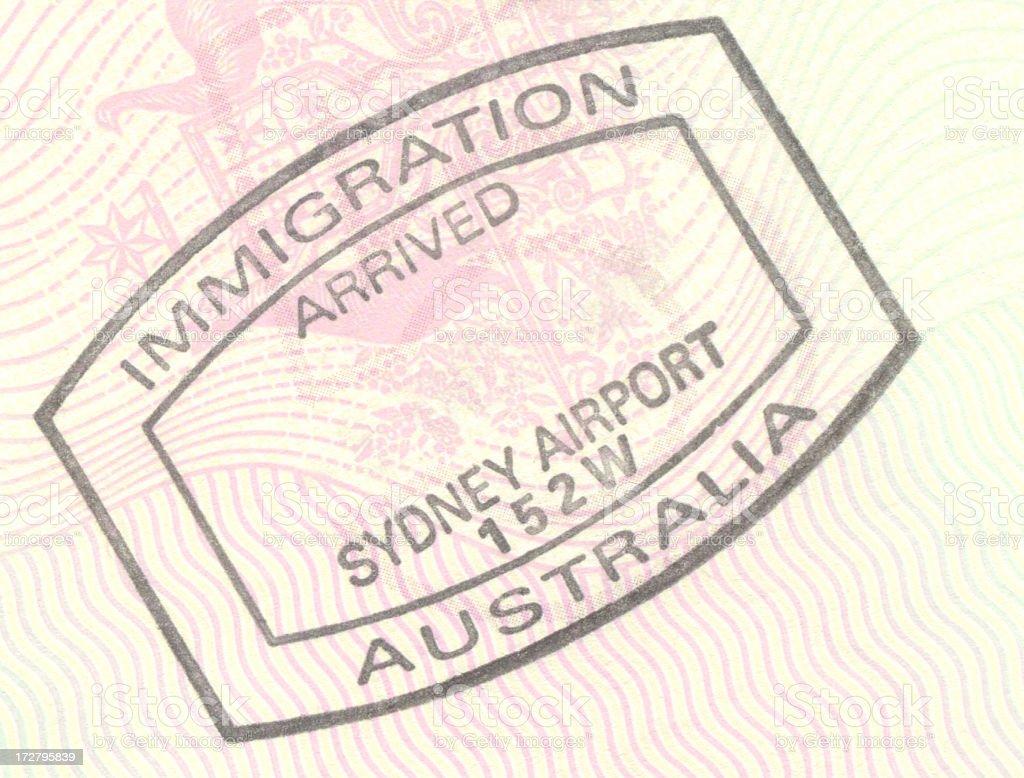 移民にオーストラリア ストックフォト