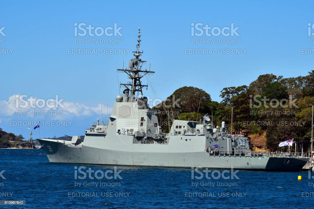 Australia, Navy , Warship stock photo