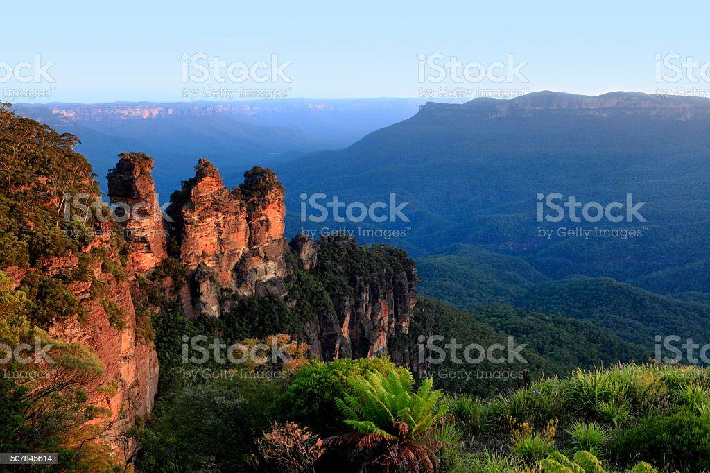 Katoomba, Neu Süden Wales, Australien Drei Schwestern – Foto