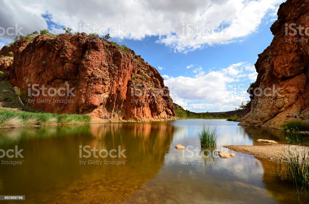 Australia, Northern Territory, Glen Helen stock photo