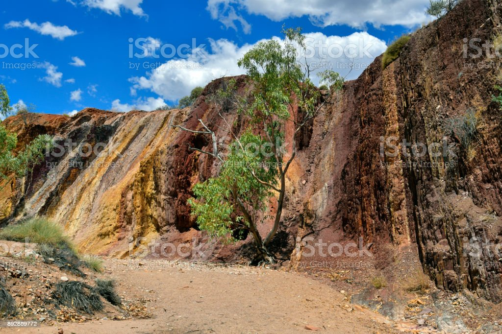 Australia, Northern Territory, Ochre Pits stock photo