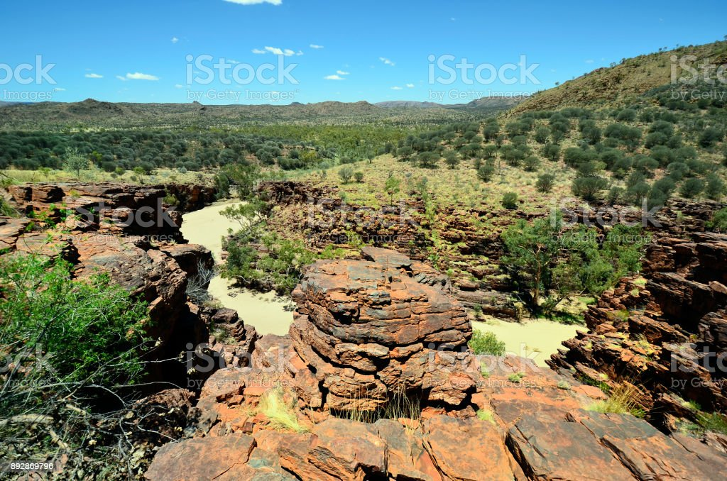 Australia, Northern Territory, Trephina Gorge stock photo