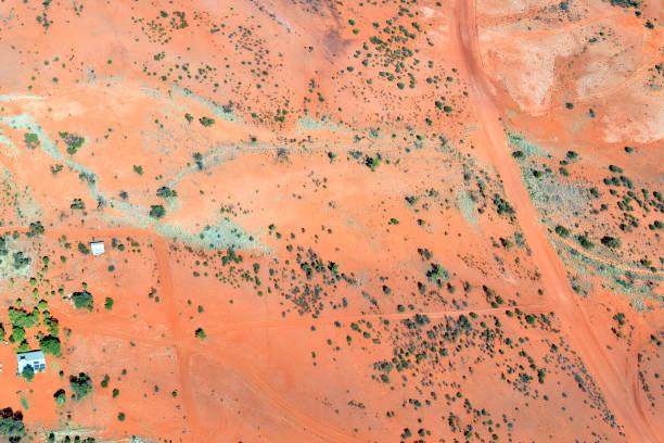 Australia, NT, Chambers Pillar Historical Reserve stock photo