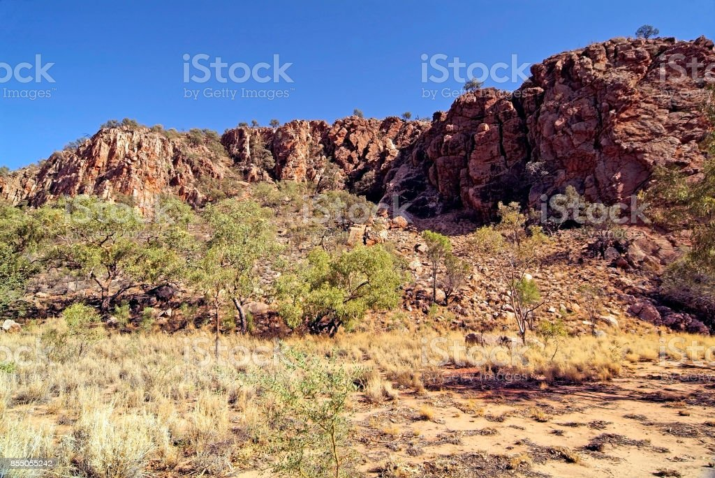 Australia, NT, East Mac Donnell Range, stock photo