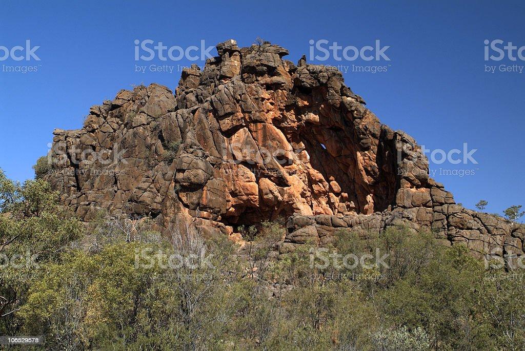 Australia, NT, East Mc Donnell Range, royalty-free stock photo