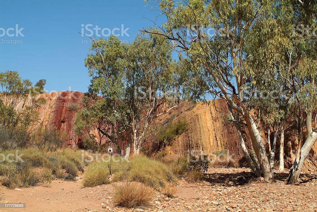 Australia, NT, Ochre Pits royalty-free stock photo