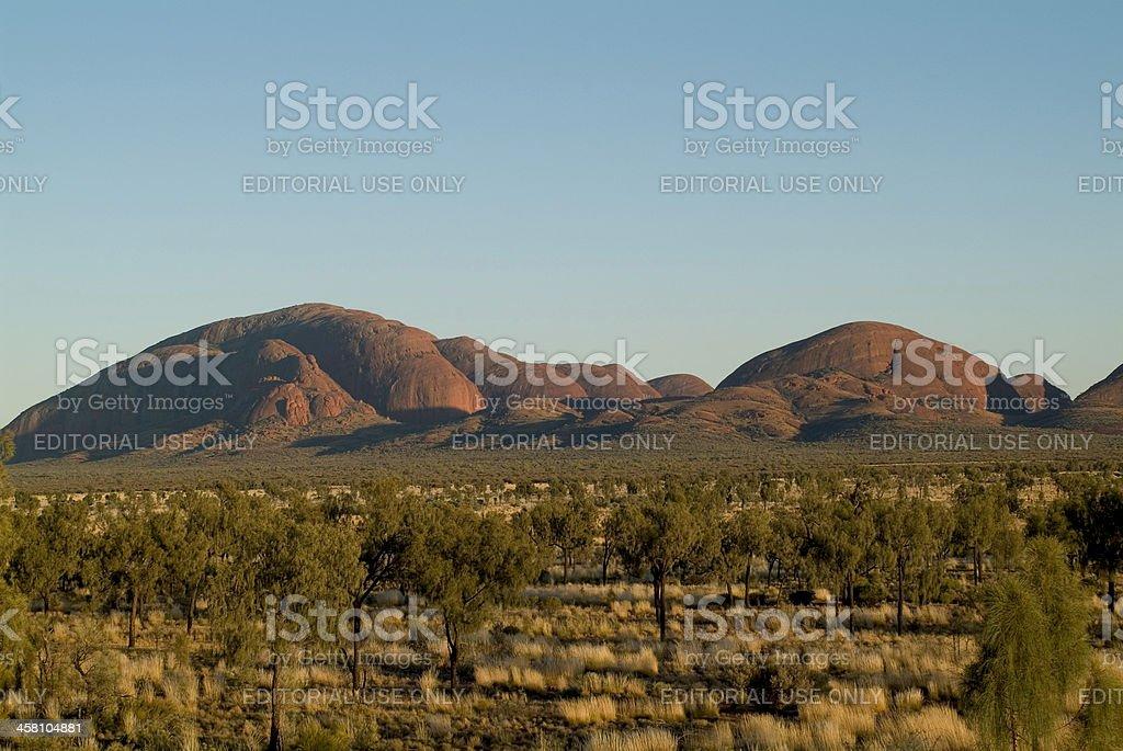 Australia, NT, Olgas royalty-free stock photo