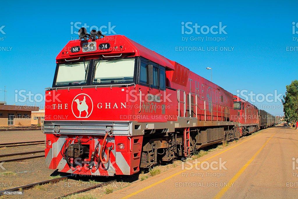 Australia, NT, The Ghan stock photo