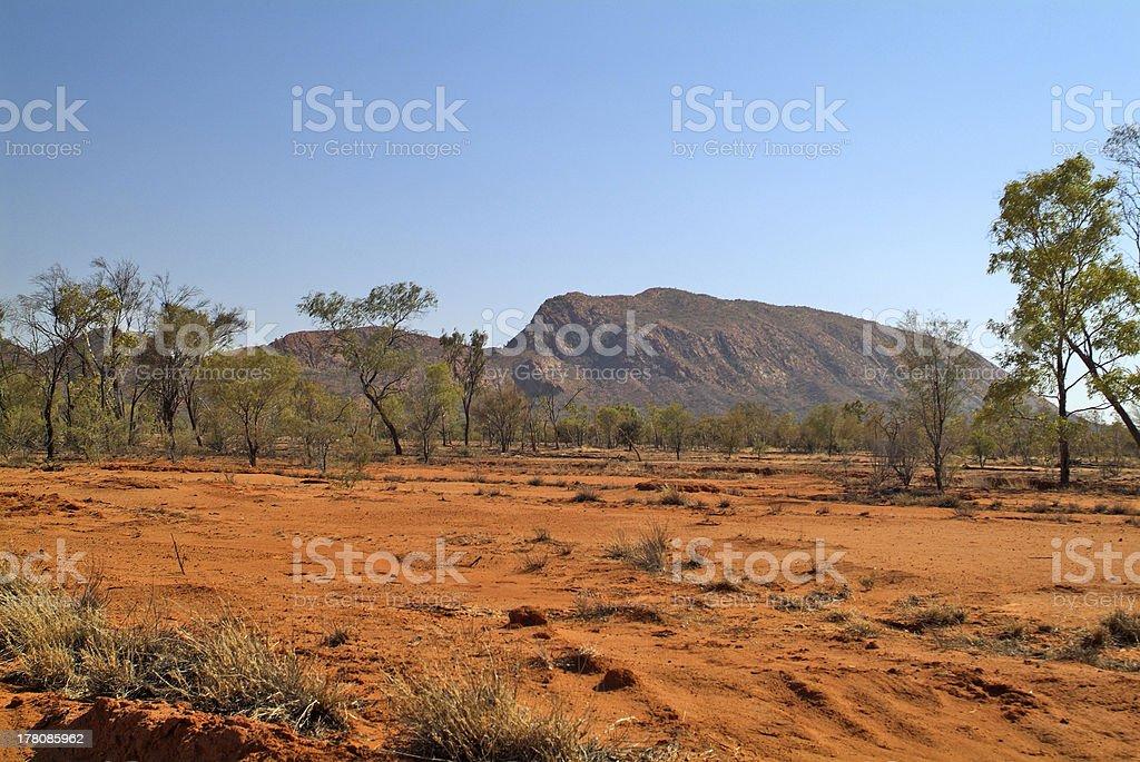 Australia, Outback royalty-free stock photo