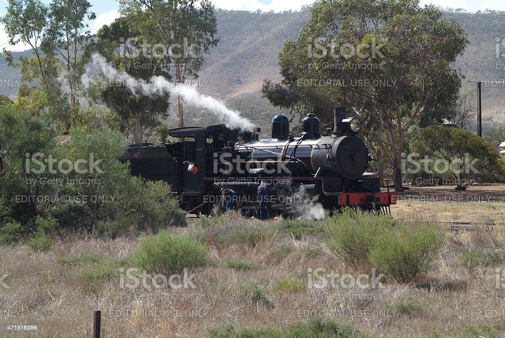 Australia, Pichi Richi Railway stock photo