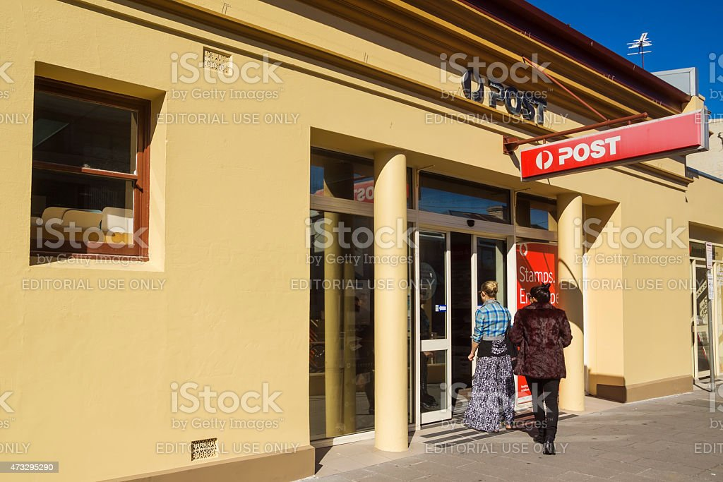 Australia Post stock photo