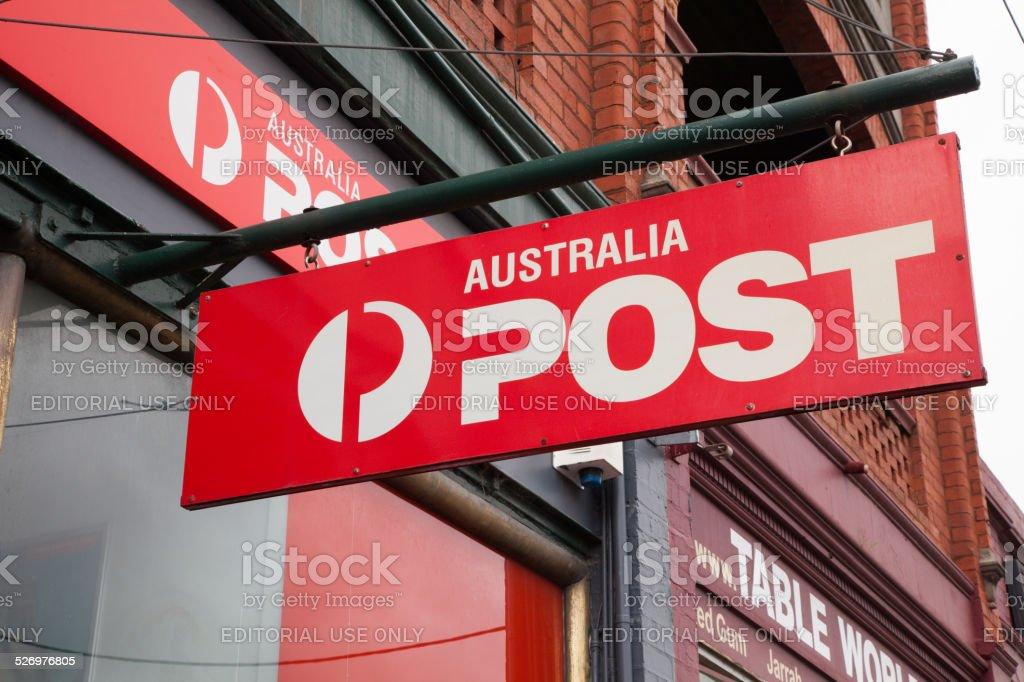 Australia Post stock photo