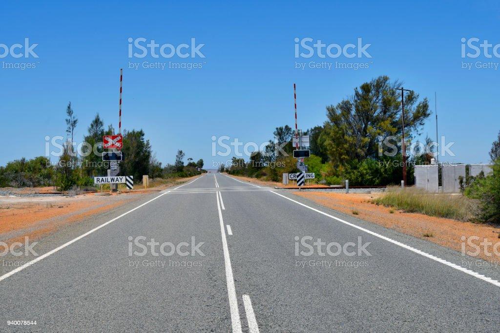 Australia Railroad Crossing Stock Photo & More Pictures of Australia