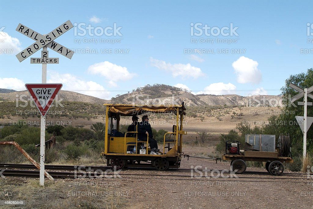 Australia, Railway royalty-free stock photo