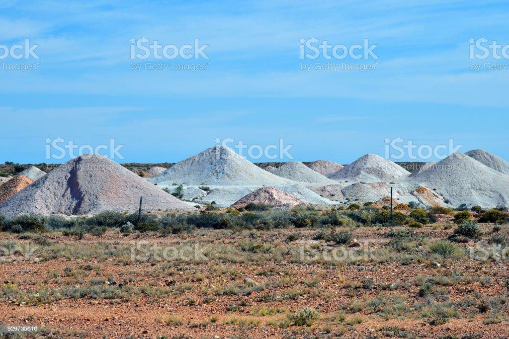 Australia Sa Coober Pedy Opal Mining Stock Photo - Download