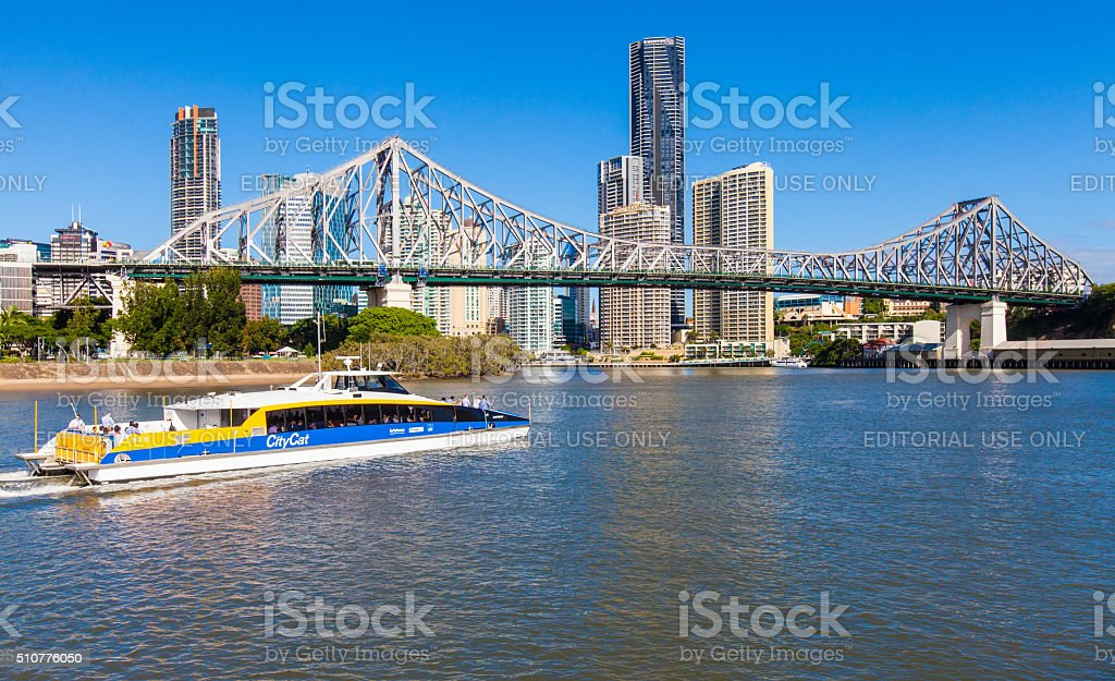 Australia. Storybridge, Brisbane stock photo