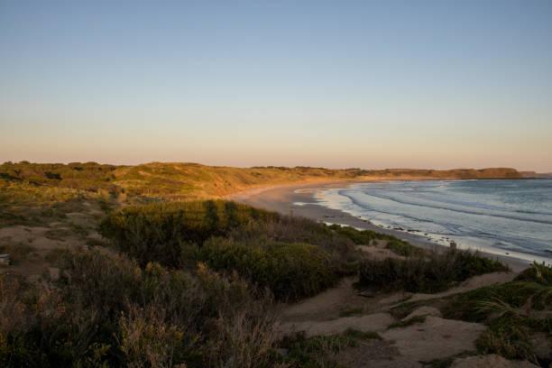 Australia: Summerland Beach stock photo