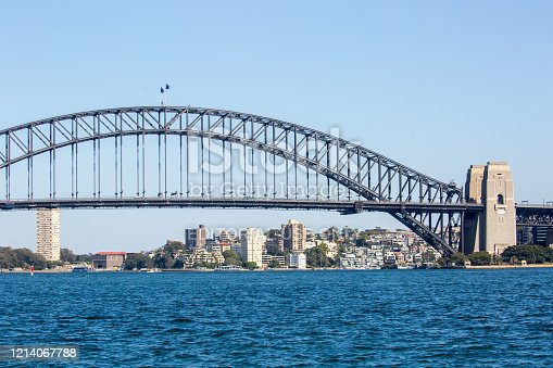 The iconic Sydney Harbour Bridge has been connecting the city's central business district with the North Shore since 1932.