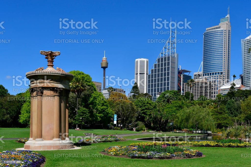 Australië, Sydney, Royal Botanic Garden foto