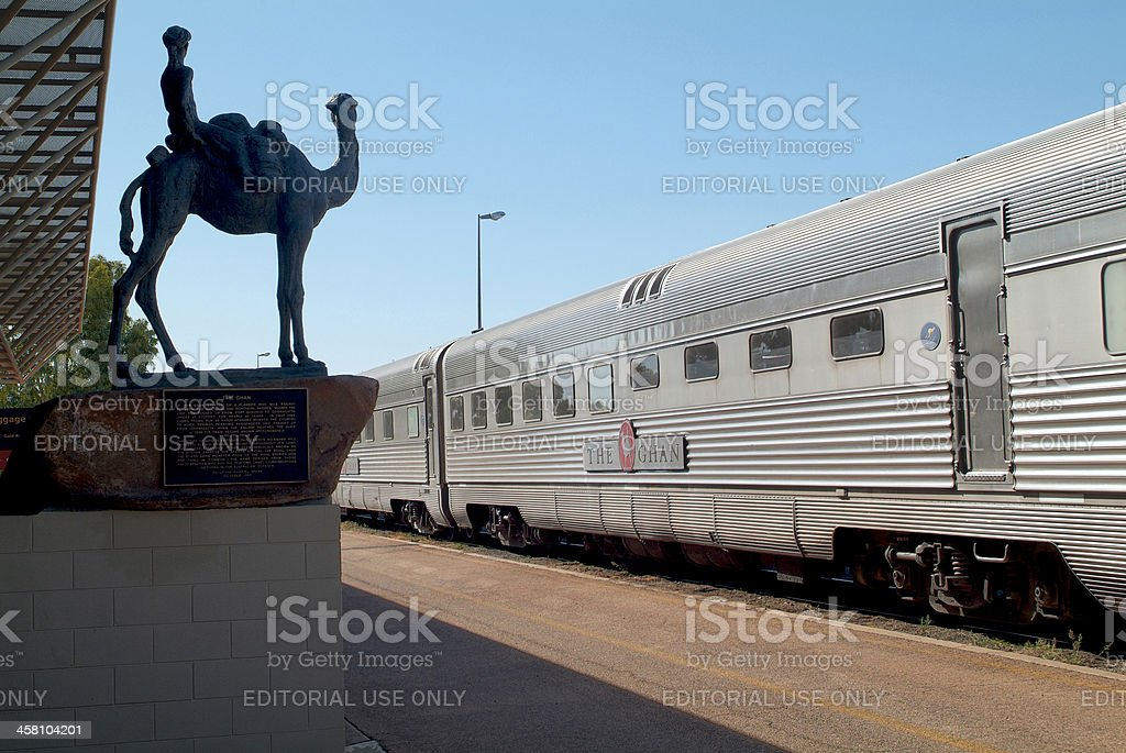 Australia, The Ghan, royalty-free stock photo