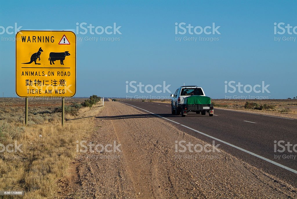 Australia, Traffic stock photo