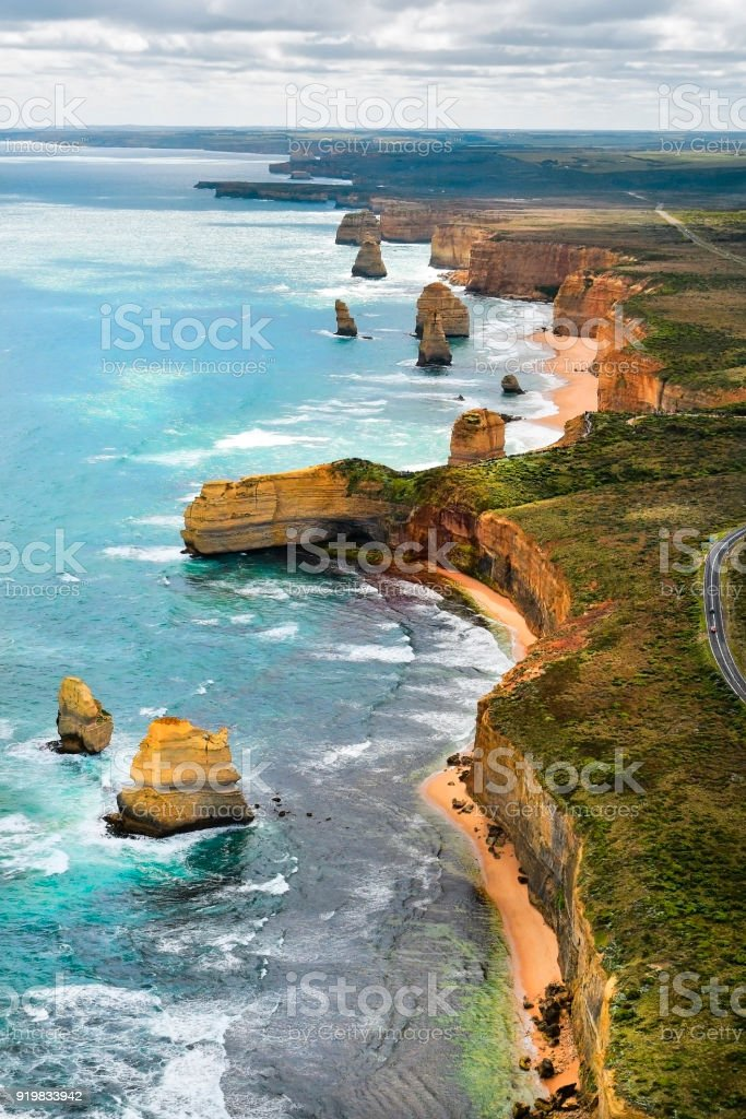 Australia, VIC, Port Campbell National Park stock photo