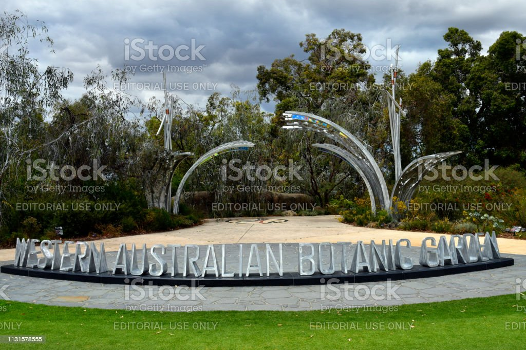 Australië, WA, Perth, botanische tuin foto