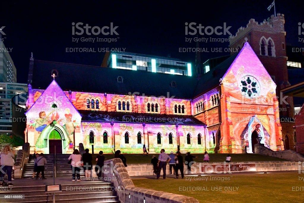 Australien, WA, Perth, jul - Royaltyfri Advent Bildbanksbilder