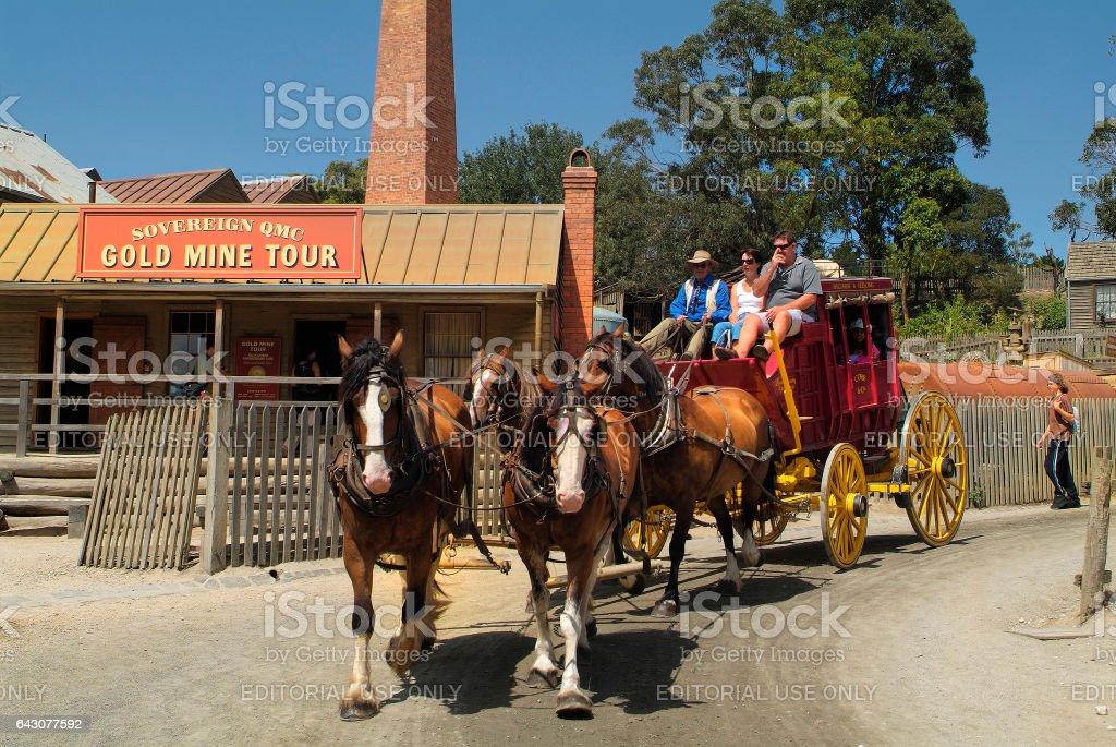 Australia_Ballarat stock photo